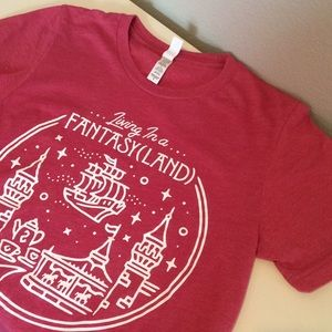 Disney inspired Fantasyland tee